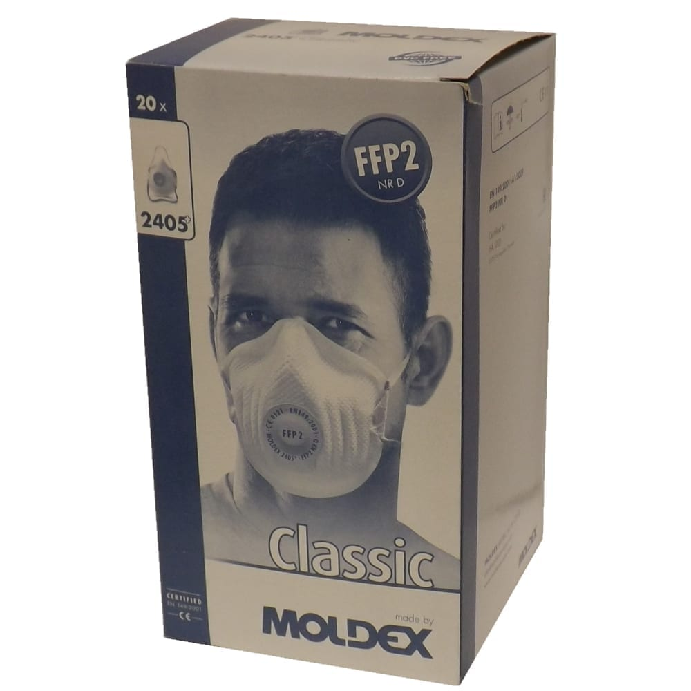 Moldex 2405 FFP2 Dust Masks Pkt 20