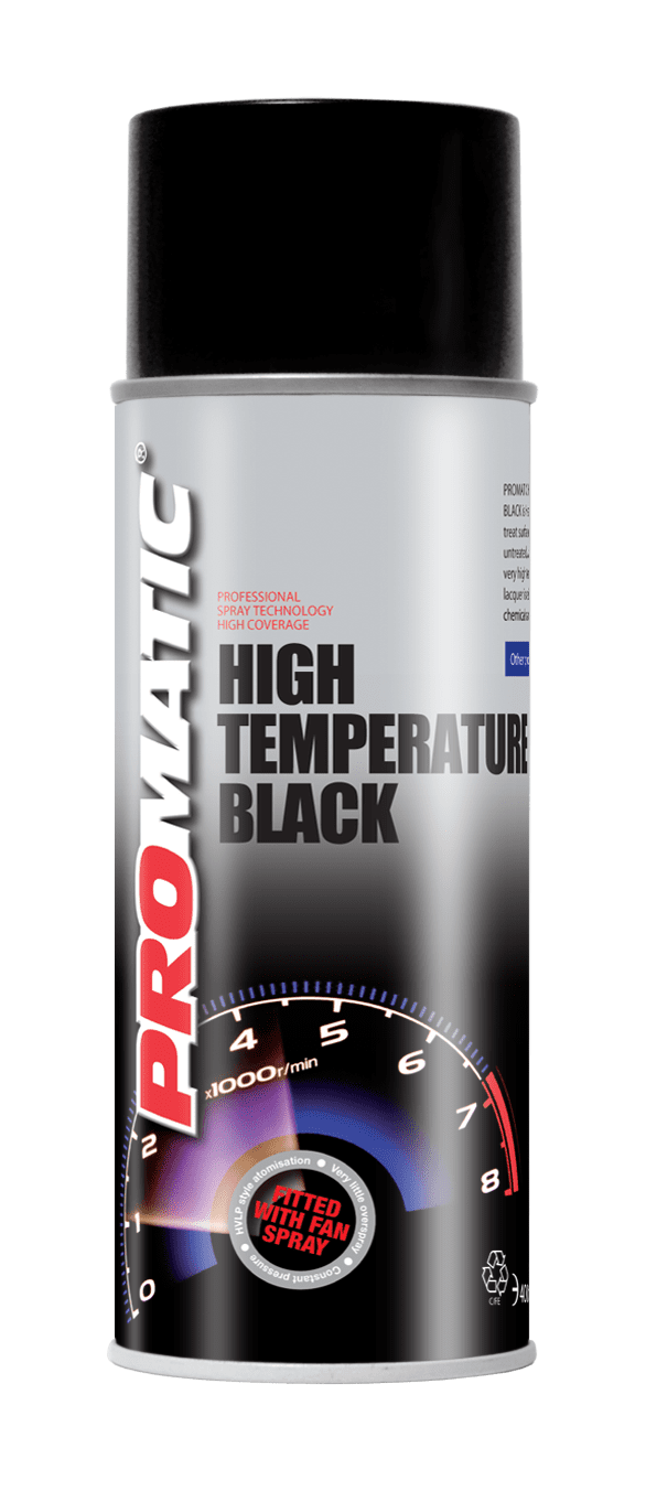pro xl high temp paint 400ml specialist aerosols refinish systems limited. Black Bedroom Furniture Sets. Home Design Ideas