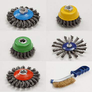 Zip Wheels Wire Brushes