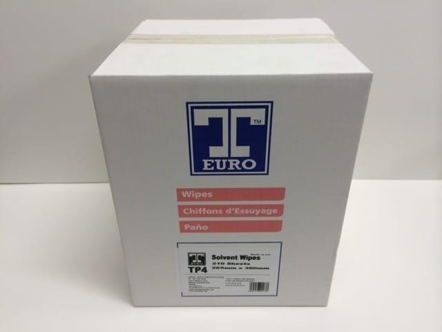 T-Euro Blue Solvent Wiper Cloth