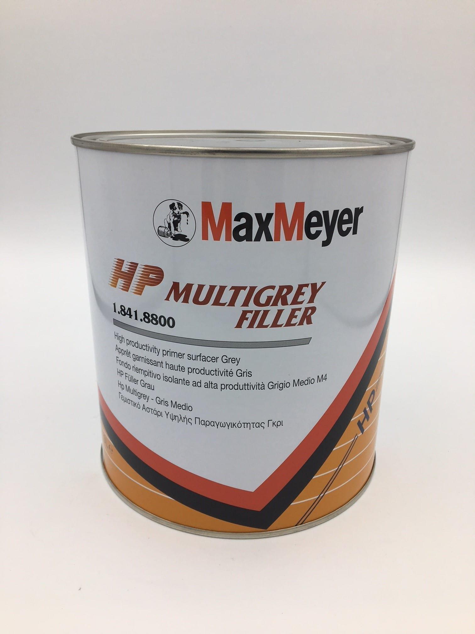 Max Meyer 8900 MultiGrey Filler (Dark Grey) 3L