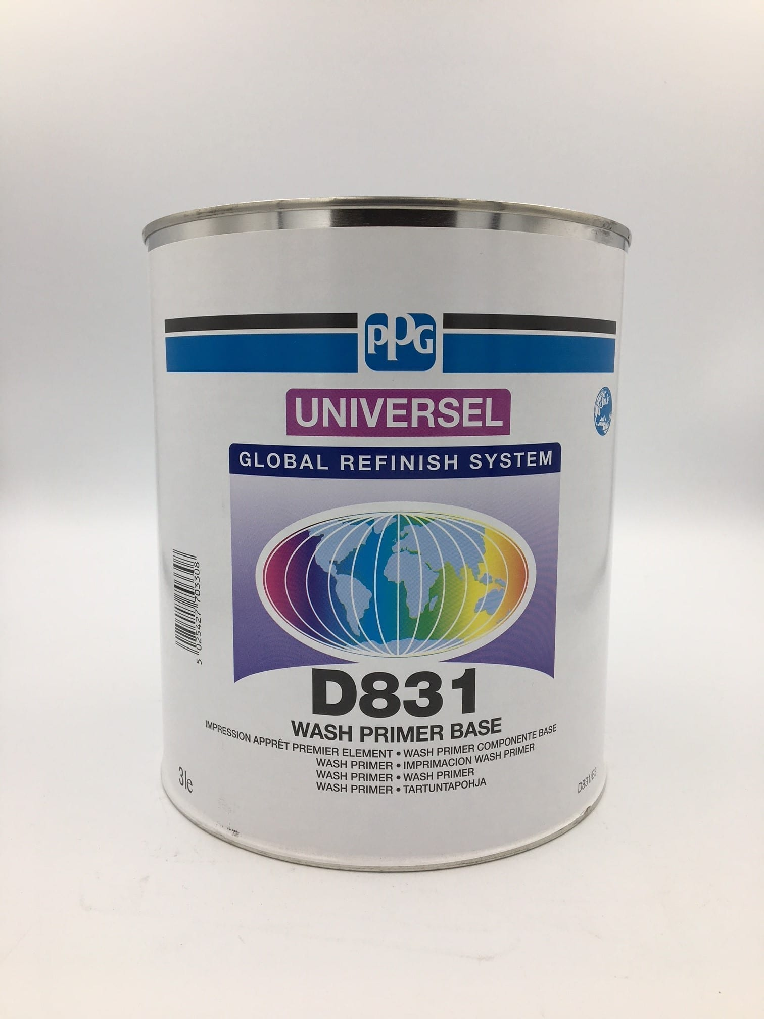 Paintless Dent Repair >> PPG Deltron D831 Wash/Etch Primer 3L | Car 2K Thinners ...