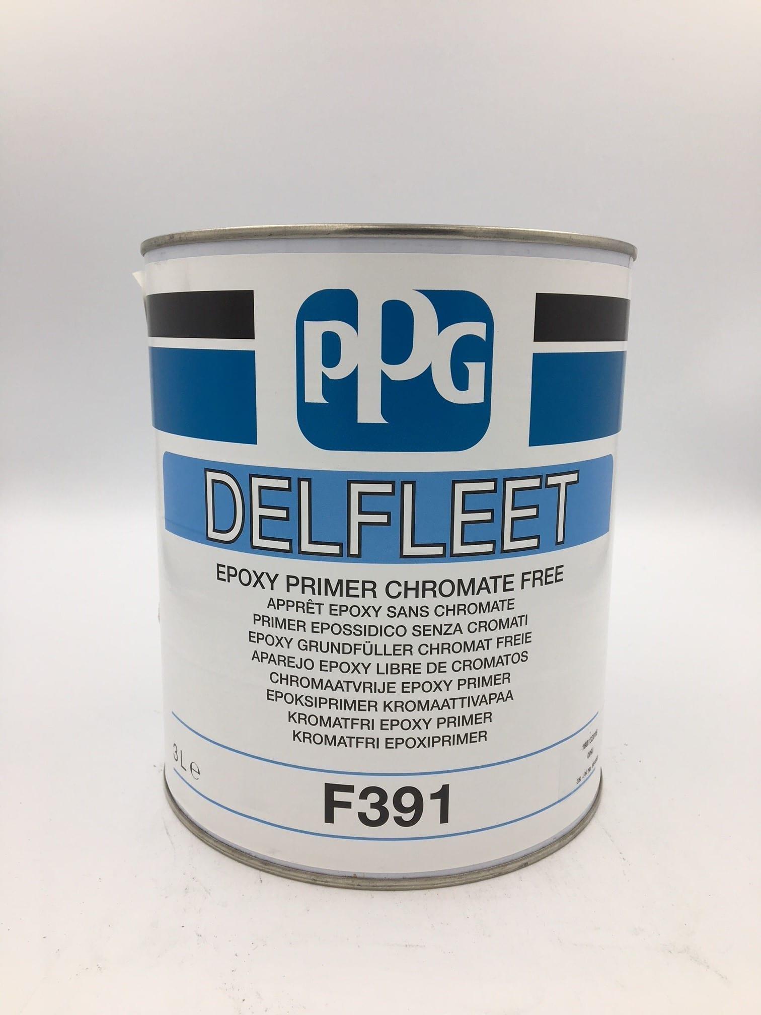 Ppg Delfleet Epoxy Primer F391 Car 2k Primers Car Epoxy Primers