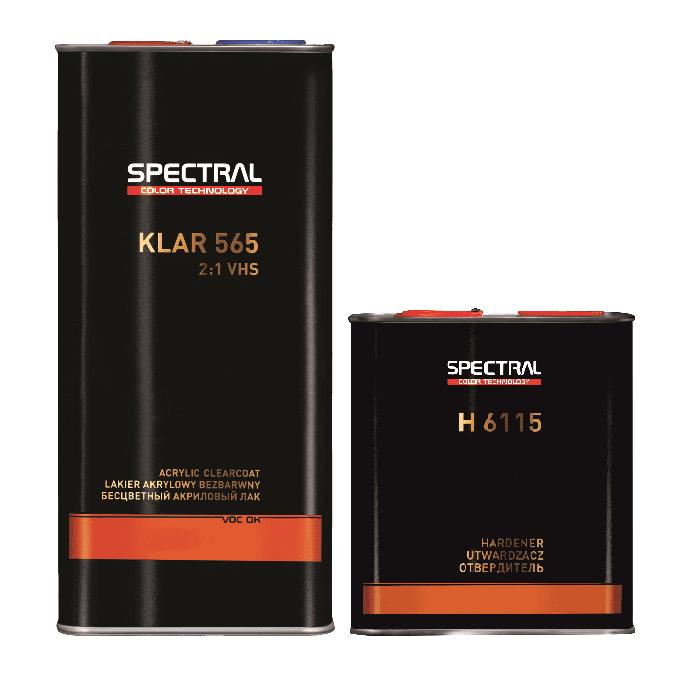 Spectral Klar 565 Vhs Clear Lacquer Kit 7 5l Car 2k Clear